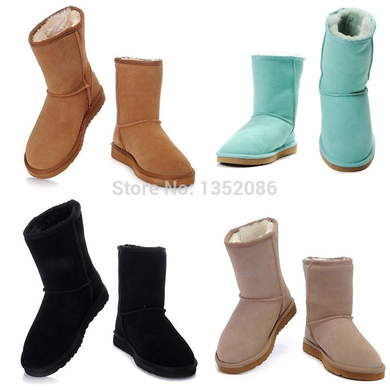 2014 Hot Sell Classic Snow Boot For Women Winter Boots Accept Mix Order Drop Shipping Free Shipping(China (Mainland))