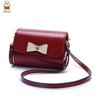 Free shipping cheapest Mini messenger bag women leather bag