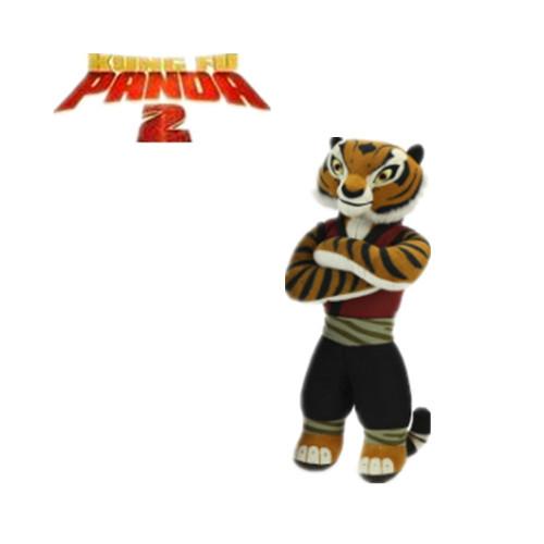 "kung fu panda plush tigeress tiger 4'' x 8""(China (Mainland))"