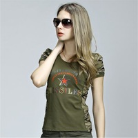women's short sleeve tshirt  female O-neck t-shirt  #32220019