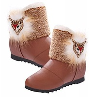 winter ankle boots heels shoes women chaussure femme snow boots women snowshoes bottes BW65