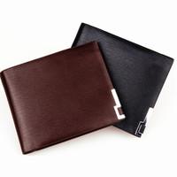 100% Genuine Leather Man Wallet New wallet for Men arrival brand design purse Crocodile short fold wallets