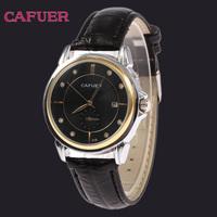 Hot Sale CAFUER Watches Men Luxury Brand Sports Military Calendar Watch High Quality Leather Quartz Watch