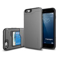 "New Arrival Korean Style SGP phone Cases for iPhone 6 Plus Case Slim Armor CS ( 5.5 "") Card Slot SPIGEN Hard Back Cover 4 Colors"