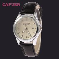 Men's Quartz Watch Precision Military Calendar Watch Business Wristwatches Waterproof CAFUER Brand Dropship