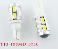 DC 12V 2PCS T10 LED 5730 10 SMD LED Car Light Source