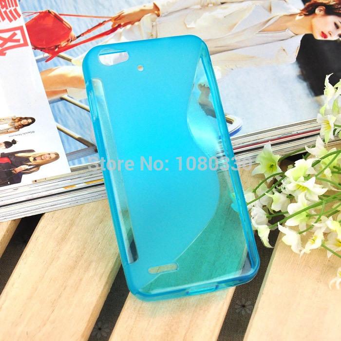 300pcs / lot Atacado Phone Cases Para Jiayu G4 / JY G4 Soft Case S Linha Pudim Telemóveis envio TPU Pudim caso capa grátis(China (Mainland))