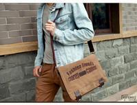 Male men's shoulder bags school bags, Japan IPAD bag canvas Messenger bag men sport retro-trendy man leisure,free shipping