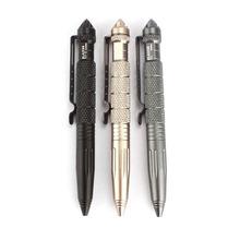 2015 Hot 3 colors Multipurpose Aluminum Tactical Pen Emergency Glass Breaker Tool Tactical Pen Self Defense Free Shipping Tonsee(China (Mainland))
