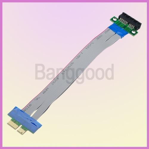 2014 5pcs/lot PCI-E 1X Slot Riser Card Extender Extension Ribbon Flex Relocate 15cm PCI Express Cable miner for Bitcoin mining(China (Mainland))