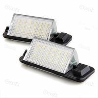 2x White 18 LED 3528 SMD Number License Plate Light Lamp Rear Bulb for BMW E36