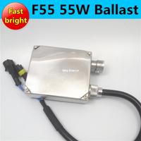 10X fast bright hid ballast F55 quick start hid xenon ballast 55W/12V for HID XENON KIT H1 H7 normal size hid digital ballast