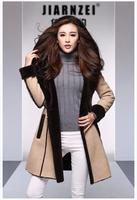 Free shipping 2014 new fashion fur Ms. Haining high quality fur coat Slim girl sheep skin fur winter clothes