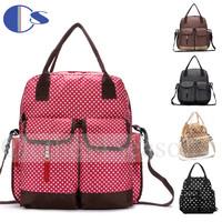 Deluxe Polka Dot Large Capacity Maternity Travel Baby Bag For Mom Maternidade Baby Changing Bag Women Messenger Bag Diaper Bags