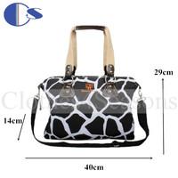 Lepard Large Capacity Maternity Travel Bag Mother Bag Baby Bags Multinational Women Messenger Bag Diaper Bags Baby Changing Bag