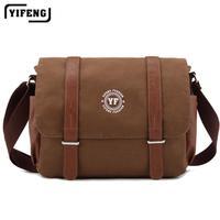 shoulder  Messenger bag male Korean student flashes canvas bags leisure  man bag retro,free shipping