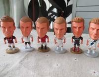 David Beckham Dolls Soccer Stars PVC Model Great Gifts for Football Fans Kids 6pcs/lot