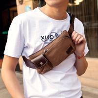 Korean version mini diagonal bag versatile men's casual wallets men's outdoor sports chest Pack men's canvas,free shipping
