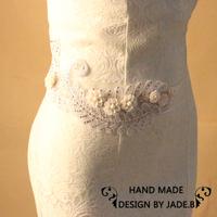 Min order $10 Wedding decroations leaf waistband Bridal handmade Sash  shinning rhinestone bridal belt free shipping BW32