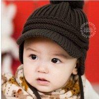 New 2014 Spring Children's Knitted Hats Boys Caps For Children Accessories Woolen Baby Girls Autumn Hat Beanie Drop Shopping