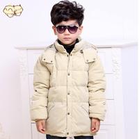 Child down coat male child down coat 2014 thickening winter boy kids down jacket Outerwear