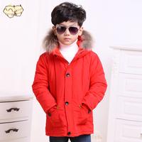 Kids down coat Winter child down jacket boy coat thickening child down Outerwear
