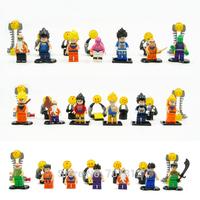 2014 Dragonball Z GT Action Figures 20PCS/Set  PVC  Crazy Party  Goku/Vegeta Building Blocks Best Gift Free Shipping
