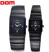 brand watch women dress watches ladies watch men clock woman fashion casual wristwatches lovers quartz ceramic Dom watch relojes