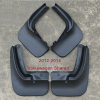 2012-2014 Volkswagen sharan Mudguards one set 4pcs