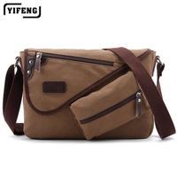 2014 new shoulder bag men and Korean tidal multipurpose leisure school bags canvas Messenger bag men man bag retro