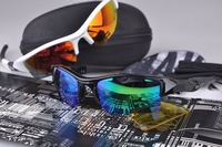 Brand Flak Jacket Cycling Bicycle Bike Outdoor Sports Sun Glasses Eyewear Goggle Sunglasses 3 color lens 10 Color Frames