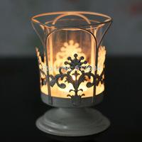 2015 New Arrival Velas Decorativas Wholesale Manufacturers of European Candle Hollow Iron Candlestick Desktop Decoration Wedding