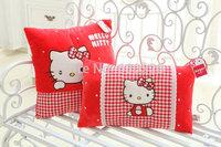 High quality Lovely Hello kitty plush Pillow 42*23cm for girls baby gift stuffed plush dolls Hello kitty Cushion plush toys