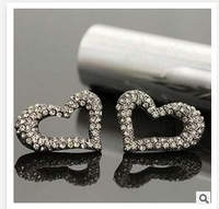 Romantic  Heart Countess Fashion European New  2014  Women's stud earrings for women jewelry  B046