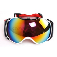 New POLISI Multicolour Lens Sponge Frame Adult Snowboard Ski goggles Protective Glasses Motorcycle Sport Anti-Fog Eyewear