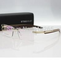 new arrival fashion brand women and men rimless frame eyeglasses frames TH-3822 optical frame high qualtiy free shipping