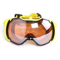 New POLISI Motorcycle Anti-Fog Goggles Ski Snowboard Snowmobile Eyewear Snow Sports Protective Glasses Free Shipping