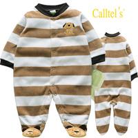 FREE SHIPPING NWT Baby Long Sleeve Sleepwear / Romper Long-ears PUPPY 3~12months (4296)