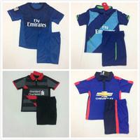 14 15 Real Madrid Goalkeeper Kids Soccer Uniform Arse Alexis Kids Liverpo Balotelli Man Di Maria14 15 Children United Jersey