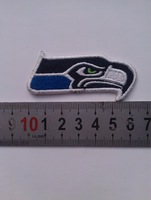 high-end 2014 National Football League CHAMPIONS LOGO SEAHAWKS appliques sons anarchy patches iron on patches for clothing