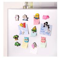 360pcs/lot Creative Lovely Cartoon Animals Silicone Refrigerator Magnets Icebox Fridge Strong Magnets