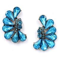 New 2014 Trend fashion earrings women full crystal vintage statement Earrings for women jewelry Factory Price