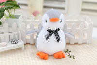 Penguin doll. Hight about 18cm. small fat. Gray and wihit body. Cute. Best animal toys gift.  IDA020