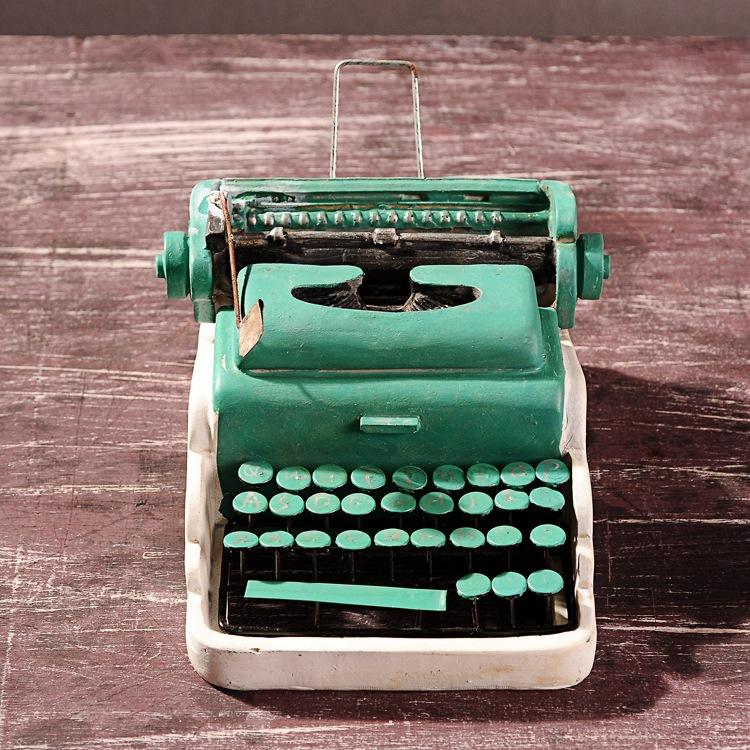 Creative Bar decoration antique model resin craft,old time typewriter(China (Mainland))