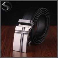 Promotion! 2014 Designer High Quality Cow Genuine Leather Men Belts for Men,Strap Male Metal Automatic Buckle,Hip Belt
