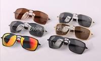2014 Top Quality Inmate Iridium 14 Color Frame Metal Frame Polarized Lens Outdoor Men Sport Sunglasses With Original Package