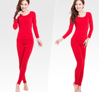 Free ship Women Long-Sleeve Soft Comfort  Modal pajamas set ,Slim and Warm Women's thin Sleep & Lounge Sleepwear suit  WJ-426