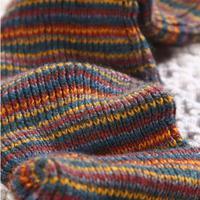 Fashion Women Warm Winter Leg Warmers Knitting Socks Classic Leg Warmers Colorful striped gaiters boot cuffs 0003D-197