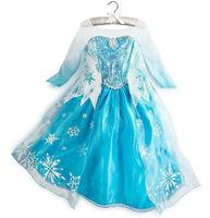 Baby girl Christmas forze dress novelty Vestido Infantil girls silk full o-neck dress overalls sale well baby clothing