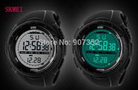 Men Sports Watches SKMEI Brand Digital Watch LED 50m waterproof Outdoor Dress Wristwatches Military Watch relogios masculinos